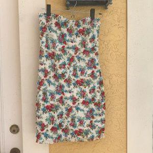 Strapless Zara mini dress